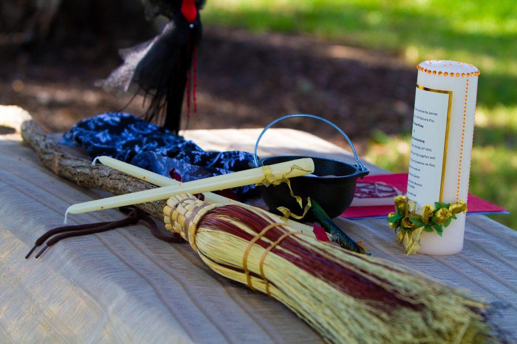 magia wicca: celebrazione matrimonio